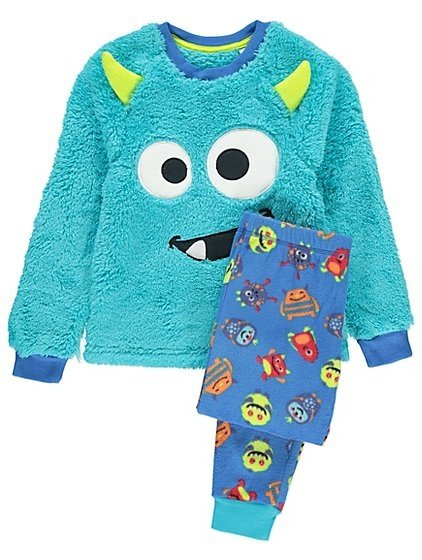 Пижама George для мальчика Fleece Monster